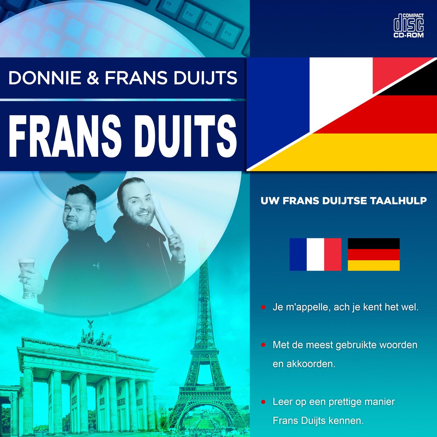 Nieuwe single Donny & Frans Duits: 'Frans Duits'