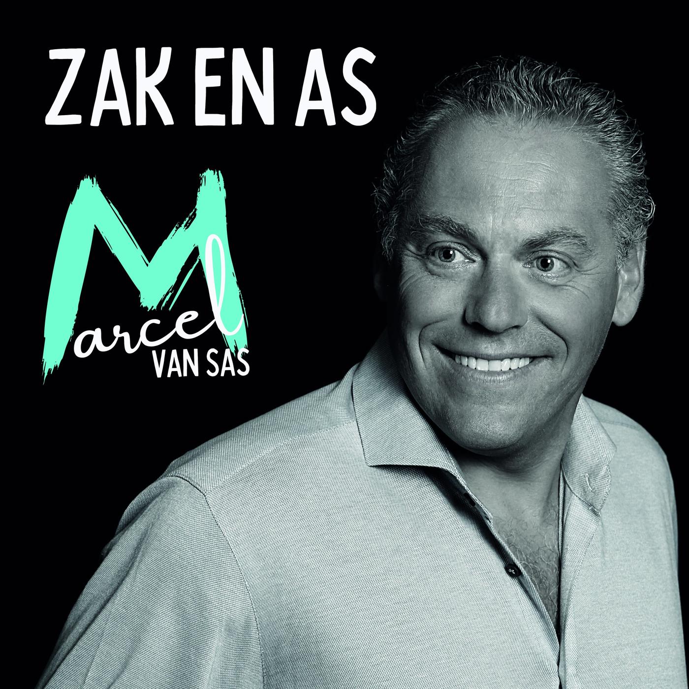 Nieuwe single Marcel van Sas: 'Zak en as'