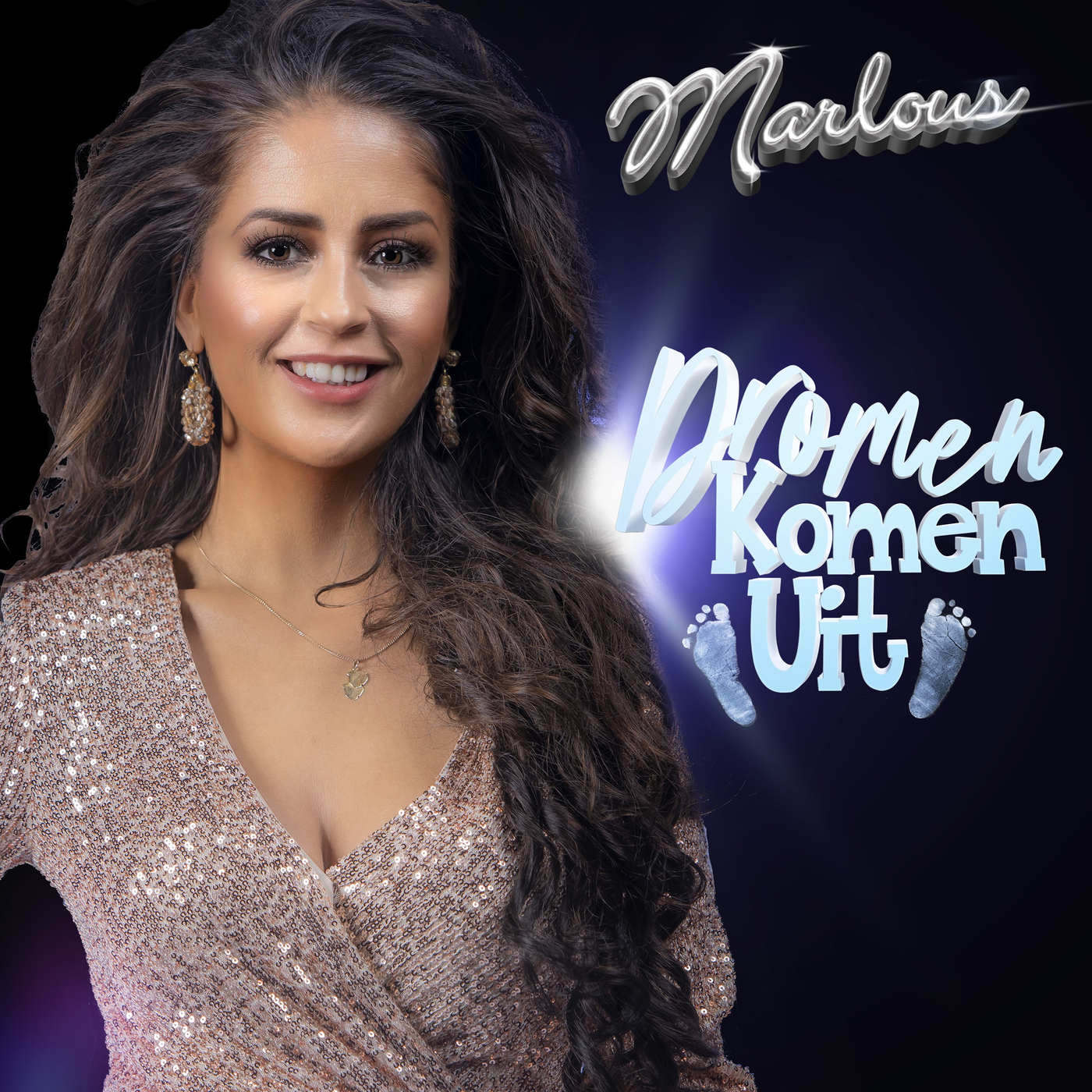 Nieuwe single Marlous – Dromen Komen Uit