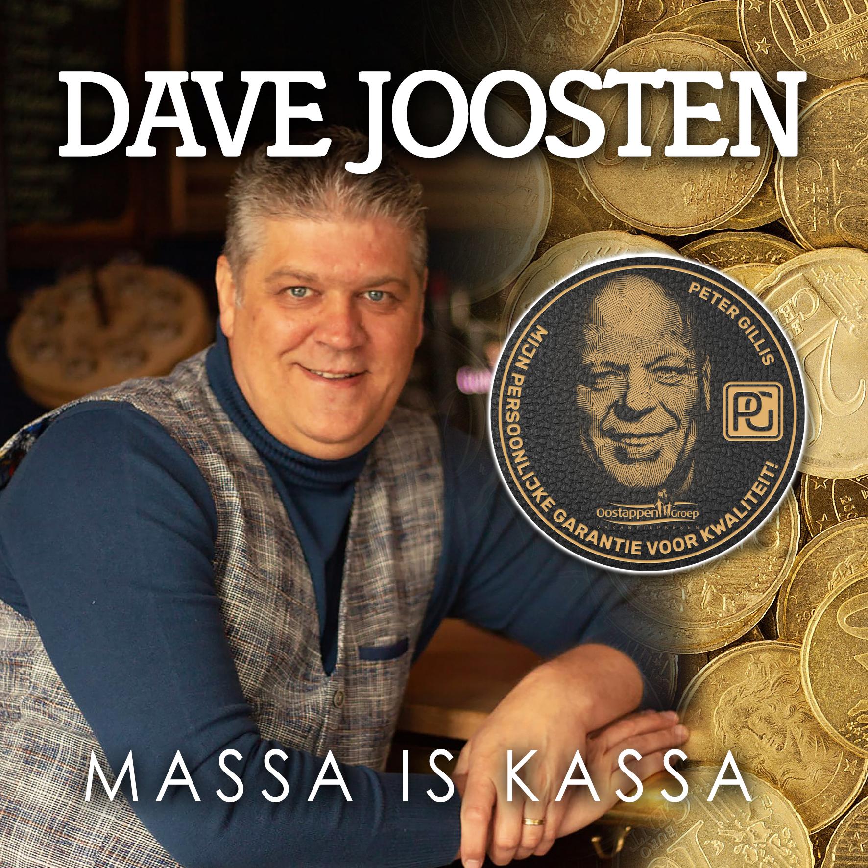 Nieuwe Single: Dave Joosten – Massa is Kassa